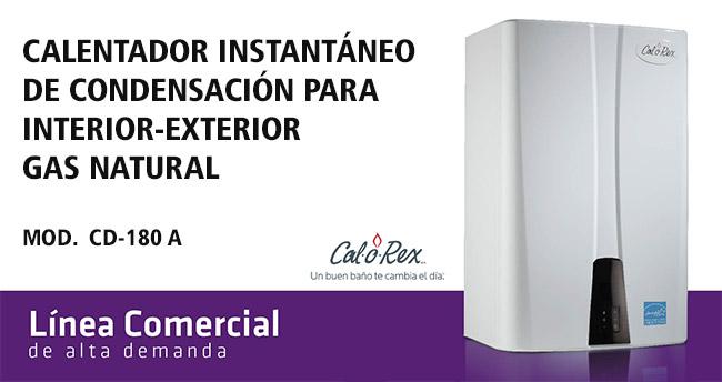 Calentador de agua instant neo de condensaci n 19 900 - Precio de calentadores de gas natural ...