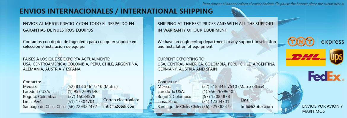 Envío Internacional / International Shipping